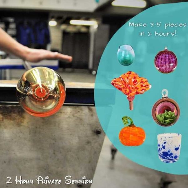 Ultimate Glass Blowing Experience options