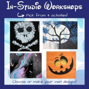 Choose from 4 different in-studio DIY workshops at the Portland