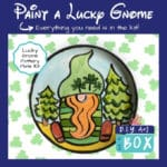Lucky Gnome Plate Kit with Tutorial