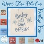 Wood Sign Paint Workshop @ The Resort