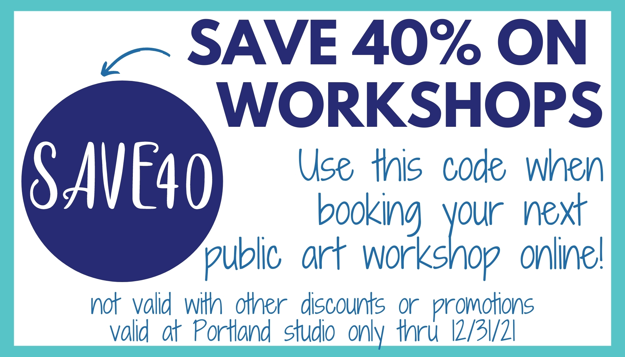 save 40% on public diy art and glassblowing workshops at the portland studio valid through 12/31/21 cannot be combined with other discounts or promotions