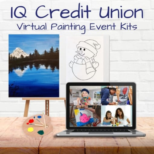 canvas painting private event buy a kit